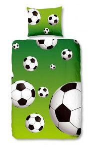 Voetballen Groen Dekbedovertrek